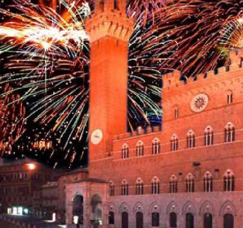 Capodanno Silent Disco Siena 2016 Foto